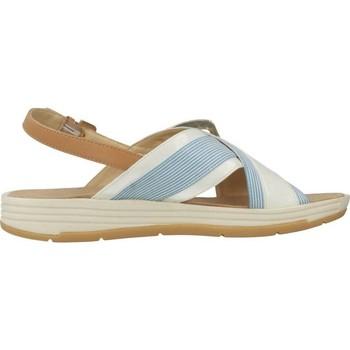 Geox D KOLEOS Weiß - Schuhe Sandalen / Sandaletten Damen 4200