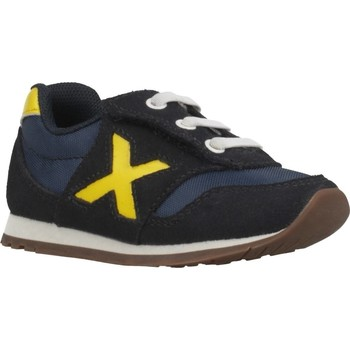 Schuhe Jungen Sneaker Low Munich BABY DASH 18 Blau