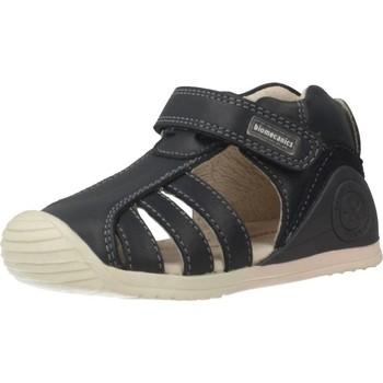 Schuhe Mädchen Sportliche Sandalen Biomecanics 192125 Blau