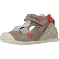 Schuhe Jungen Sportliche Sandalen Biomecanics 192128 Grau