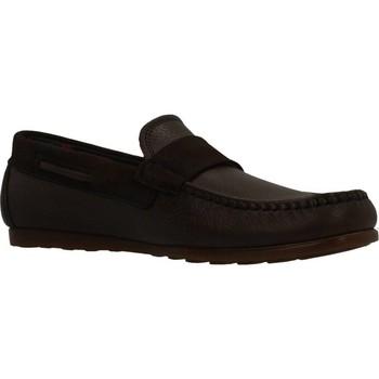 Schuhe Herren Slipper CallagHan 15202C MOCASIN Brown