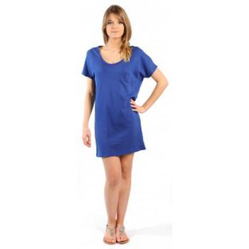 Kleidung Damen Kurze Kleider American Vintage ROBE CI88E11 INDIGO Blau