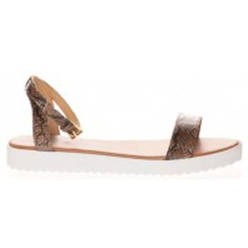 Schuhe Damen Sandalen / Sandaletten Cassis Côte d'Azur Sandales Gasteria Camel Braun