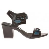 Schuhe Damen Sandalen / Sandaletten Cassis Côte d'Azur Sandales Avril Noir Schwarz