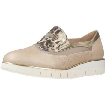 Schuhe Damen Slipper Argenta 31301 2 Beige