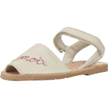 Schuhe Mädchen Sandalen / Sandaletten Ria 20090 Beige