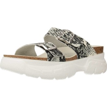Schuhe Damen Sandalen / Sandaletten Genuins G101815 Mehrfarbig
