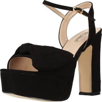 Schuhe Damen Sandalen / Sandaletten Different 64 8504 Schwarz