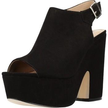 Schuhe Damen Sandalen / Sandaletten Different 64 8513 Schwarz