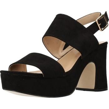 Schuhe Damen Sandalen / Sandaletten Different 64 8540 Schwarz