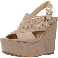 Schuhe Damen Pantoletten / Clogs Different 64 8549 Brown