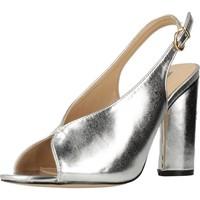 Schuhe Damen Sandalen / Sandaletten Different 64 8624 Silber