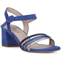 Schuhe Damen Sandalen / Sandaletten Priv Lab SANDALO 969 Blu