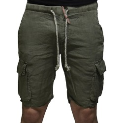 Kleidung Herren Shorts / Bermudas Close-Up BERMUDA CARGO VERDE Grün