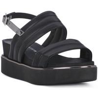 Schuhe Damen Sandalen / Sandaletten Sono Italiana NAPPA NERO Nero