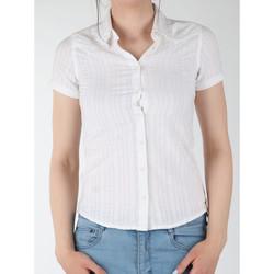 Kleidung Damen Hemden Wrangler Damenhemd  Sammy W5021CA12 weiß