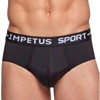 Unterwäsche Herren Frauen-Slips Impetus Sport 0036B87 020 Schwarz