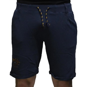 Kleidung Herren Shorts / Bermudas Close-Up BERMUDA BLU Blau
