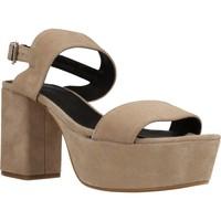 Schuhe Damen Sandalen / Sandaletten Angel Alarcon 17596 286 Beige