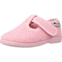 Schuhe Mädchen Hausschuhe Vulladi 3112 052 Rosa