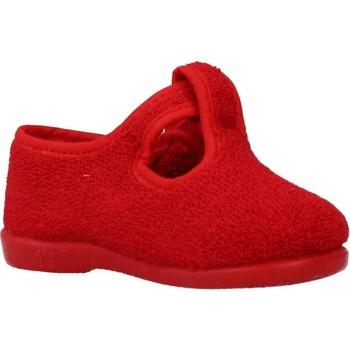 Schuhe Jungen Hausschuhe Vulladi 3112 052 Rot