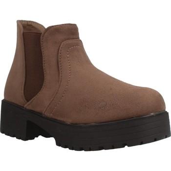 Schuhe Mädchen Boots Different 4216 Brown