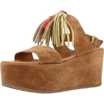 Schuhe Damen Sandalen / Sandaletten Alpe 3424 11 Brown