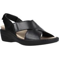 Schuhe Damen Sandalen / Sandaletten Pinosos 70910 Schwarz