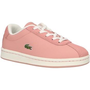 Schuhe Mädchen Multisportschuhe Lacoste 37SUC0011 MASTERS PW1 PNK-OFF WHT Rosa