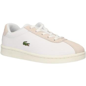 Schuhe Kinder Multisportschuhe Lacoste 37SUC0011 MASTERS 65T WHT-OFF WHT Blanco