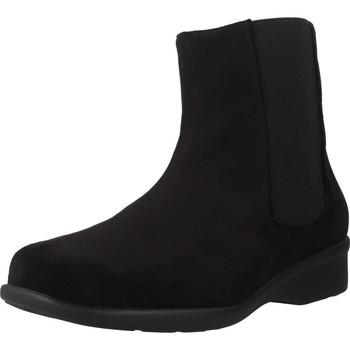 Schuhe Damen Boots Trimas Menorca 1253T Schwarz