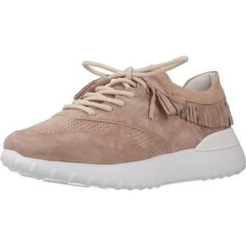 Schuhe Damen Sneaker Low Alpe 4063 11 Beige