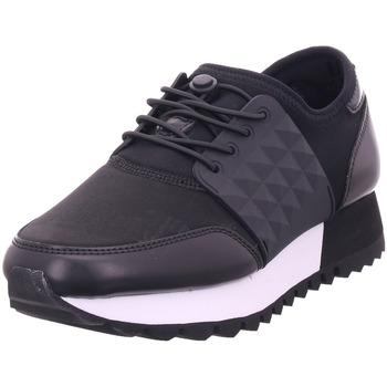 Schuhe Damen Sneaker Low S.Oliver Damen Schnürer BLACK COMB 098