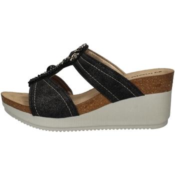 Schuhe Damen Pantoffel Inblu EN 12 BLACK