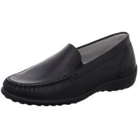 Schuhe Damen Slipper Waldläufer Slipper MEMPHIS 640004-186/001 schwarz