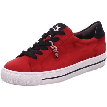 Schuhe Damen Sneaker Low Paul Green 4835-055 rot