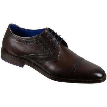 Schuhe Herren Derby-Schuhe & Richelieu Bugatti Business 311528021100-6100 braun