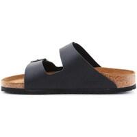 Schuhe Herren Pantoffel Birkenstock Arizona Beige, Graphit