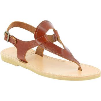 Schuhe Damen Sandalen / Sandaletten Attica Sandals ARTEMIS CALF DK-BROWN marrone