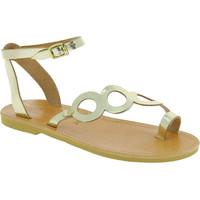 Schuhe Damen Sandalen / Sandaletten Attica Sandals APHRODITE CALF GOLD oro