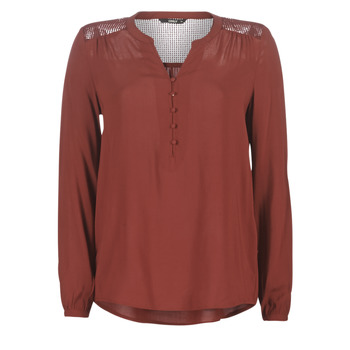 Kleidung Damen Tops / Blusen Only ONLEDDIE Bordeaux