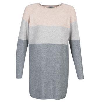 Kleidung Damen Kurze Kleider Only ONLLILLO Grau / Rose