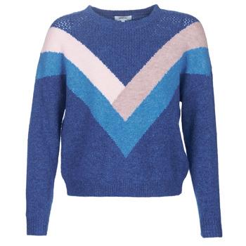 Kleidung Damen Pullover Only ONLFCORA Blau