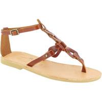 Schuhe Damen Sandalen / Sandaletten Attica Sandals GAIA CALF DK-BROWN marrone