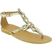 Schuhe Damen Sandalen / Sandaletten Attica Sandals GAIA CALF GOLD oro