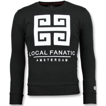 Kleidung Herren Sweatshirts Local Fanatic Greek Border En Z Schwarz