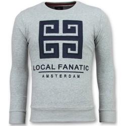 Kleidung Herren Sweatshirts Local Fanatic Greek Border Er G Grau