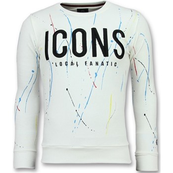 Kleidung Herren Sweatshirts Local Fanatic ICONS Painted W Weiß