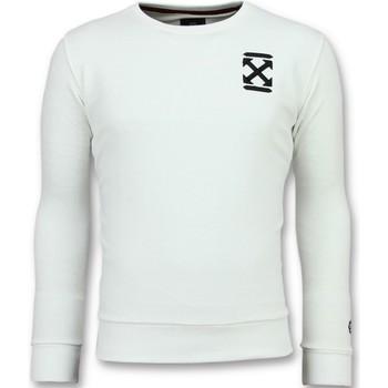 Kleidung Herren Sweatshirts Local Fanatic Off Cross New Pullis Für W Weiß