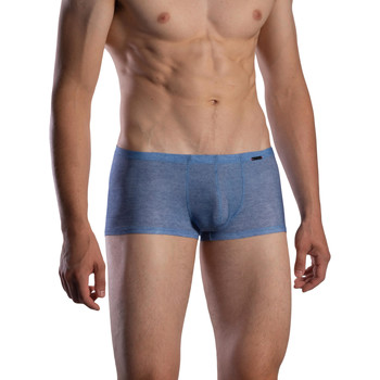 Unterwäsche Herren Boxer Olaf Benz Shorty RED1870 Blau